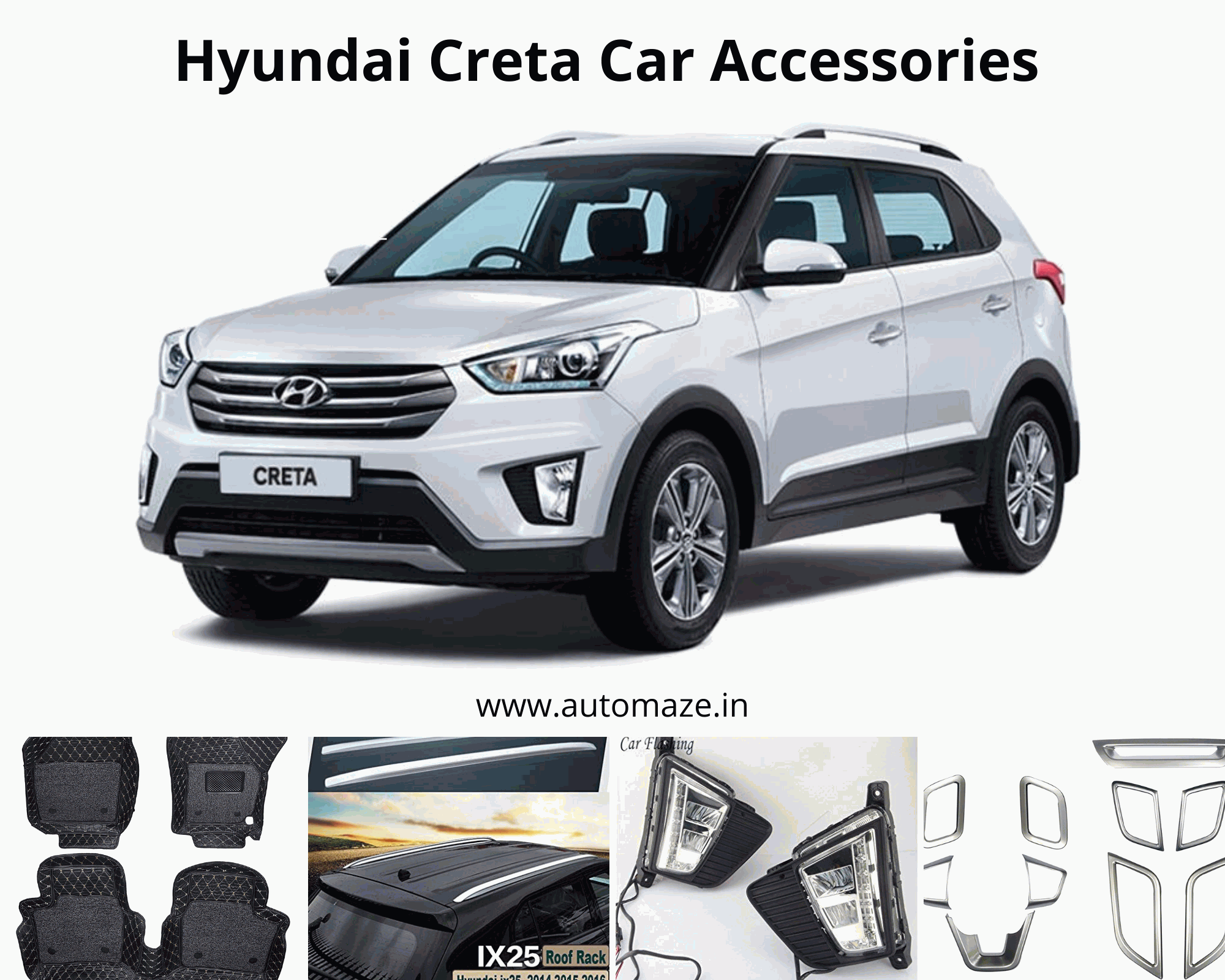 Buy Hyundai Creta Car Accessories In 2020 Car Accessories Car Car Interior Accessories