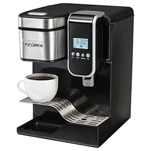 Flexbrew Programmable Single Serve Coffeemaker With Hot Water Dispenser Hot Water Dispensers Water Dispenser Single Serve Coffee Makers