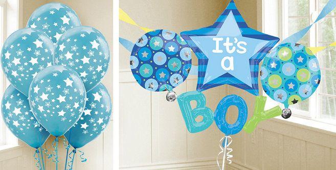 It S A Boy Balloons Party City Its A Boy Balloons Party City Balloons Party Balloons