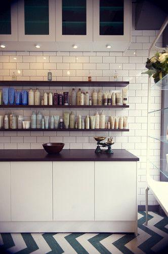 THE WONDERLAB HAIR & BEAUTY SALON DESIGN by ROAR CREATIVITY http ...
