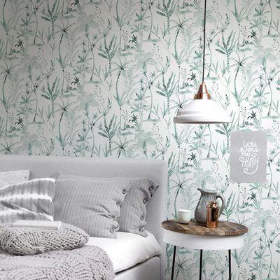 53 x 10,05 m Papel pintado Arthouse color blanco