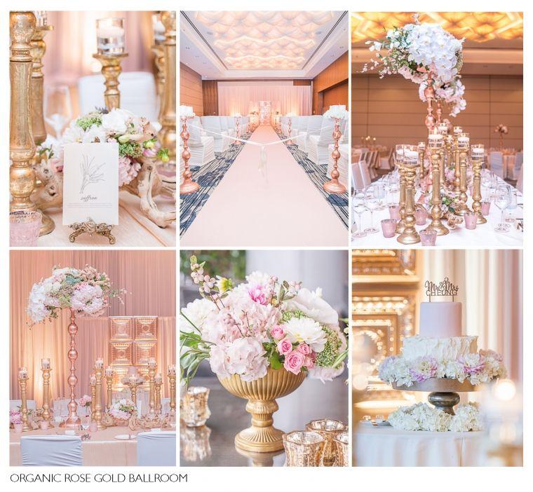 Pink And Gold Wedding Decorations: Wedding Floral Table Arrangements Gold Blush Olive Pink