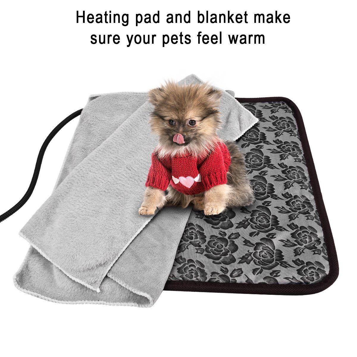 Pet heating pad ,Newroad waterproof warming mat with
