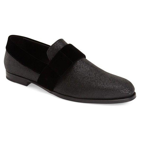 9e81611ca891 Jimmy Choo  John  Slip-On Loafer (£495) ❤ liked on Polyvore ...