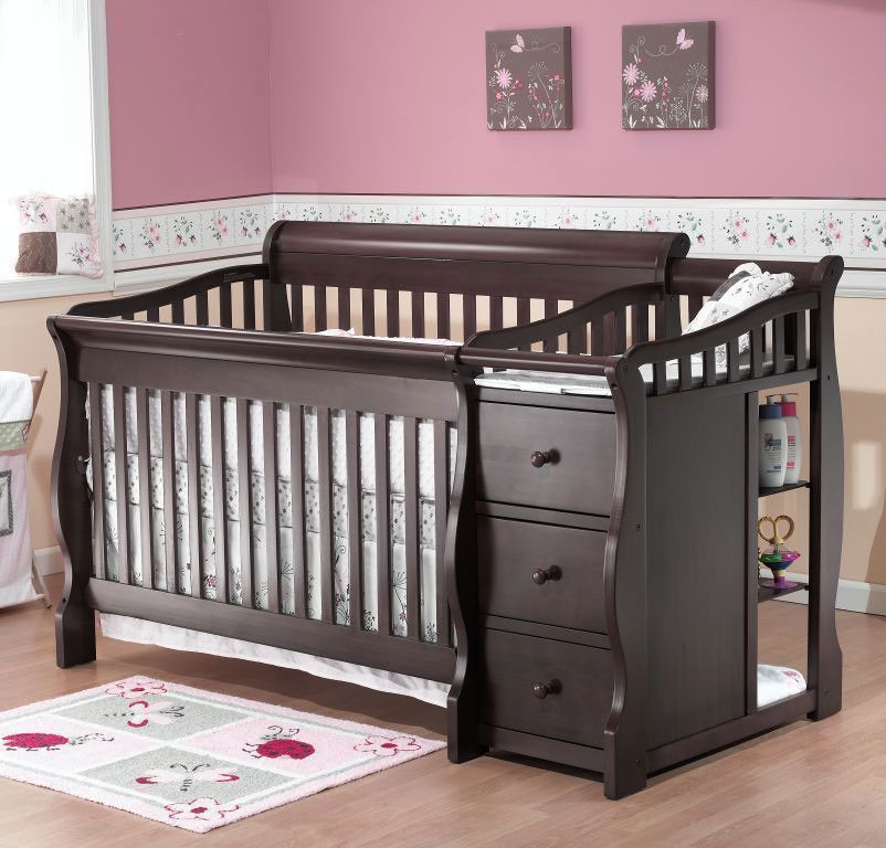 The Tuscany 4 in 1 convertible crib is a stylish, modern designed ...