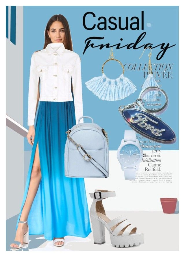 """""""Light dress"""" by blingauto on Polyvore featuring мода, Young, Fabulous & Broke, Maje, Dorothy Perkins, By Terry, Lacoste и Taolei"""