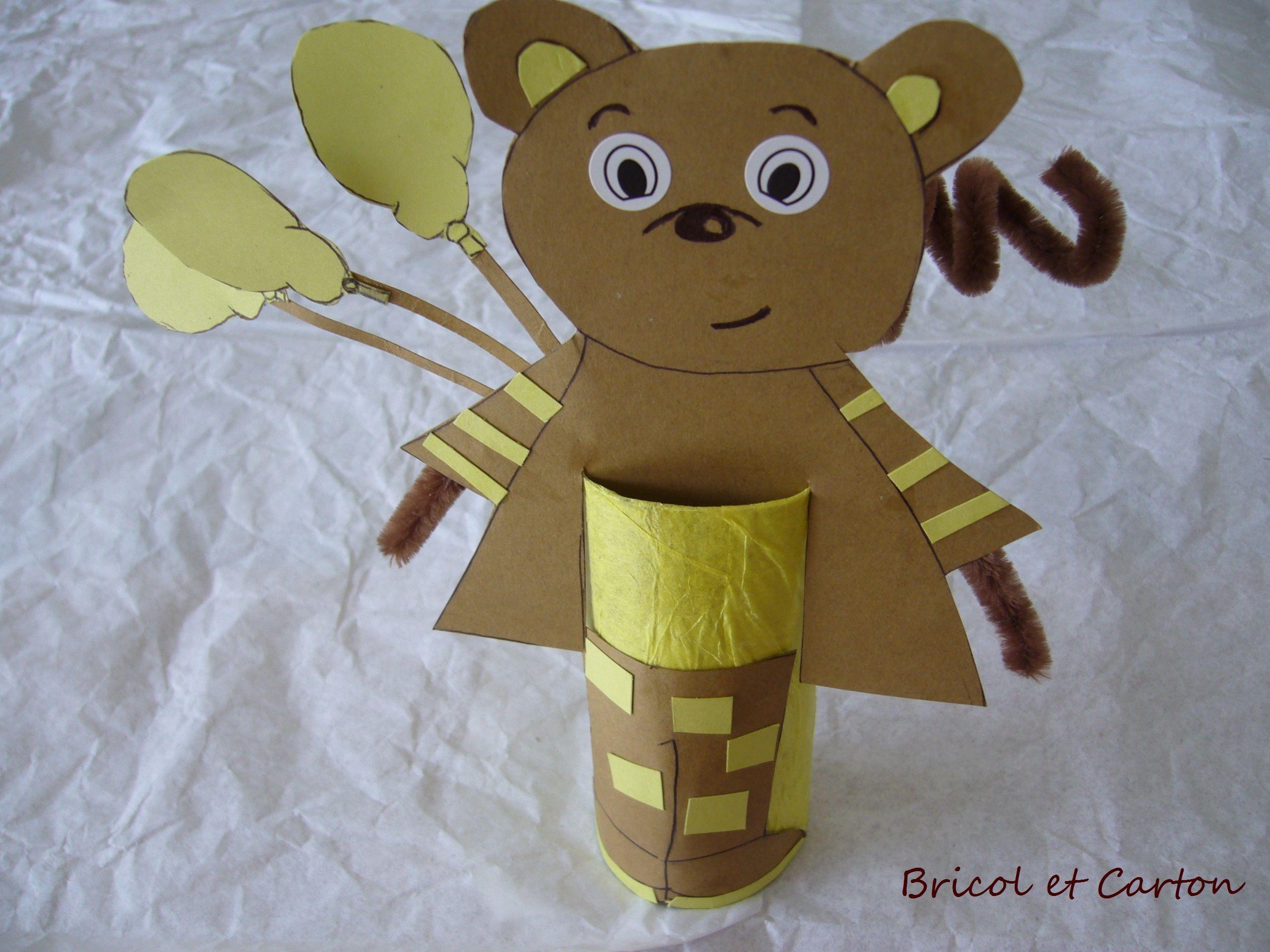Rouleau de papier toilette bricolage d 39 enfant - Bricolage rouleau papier toilette animaux ...