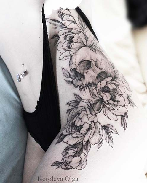 Photo of 23 Trendy Hip Tattoos That Are Actually Badass | StayGlam