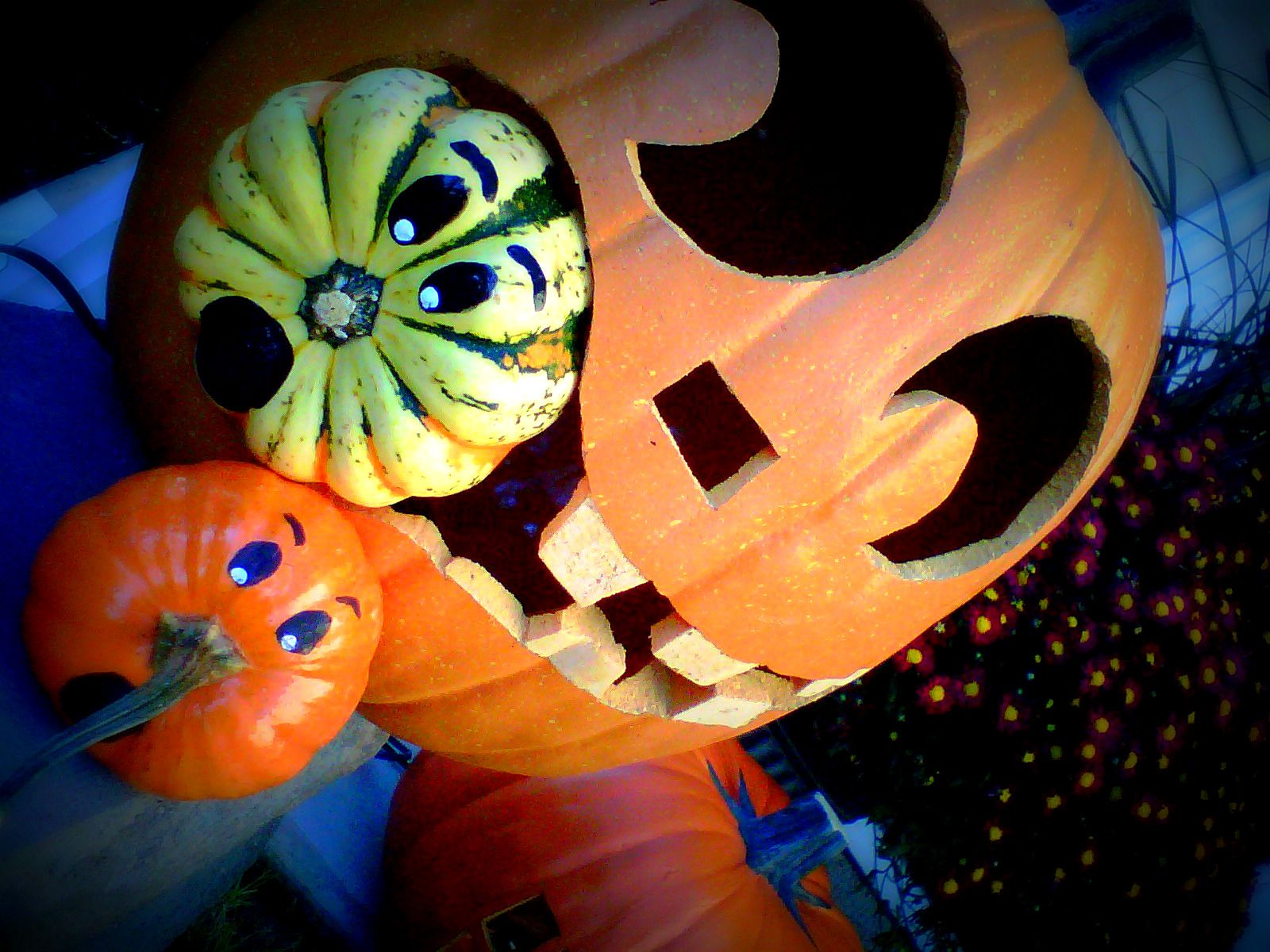 My Funkin! You can find fake pumpkins at Hobby Lobby, ready to ...