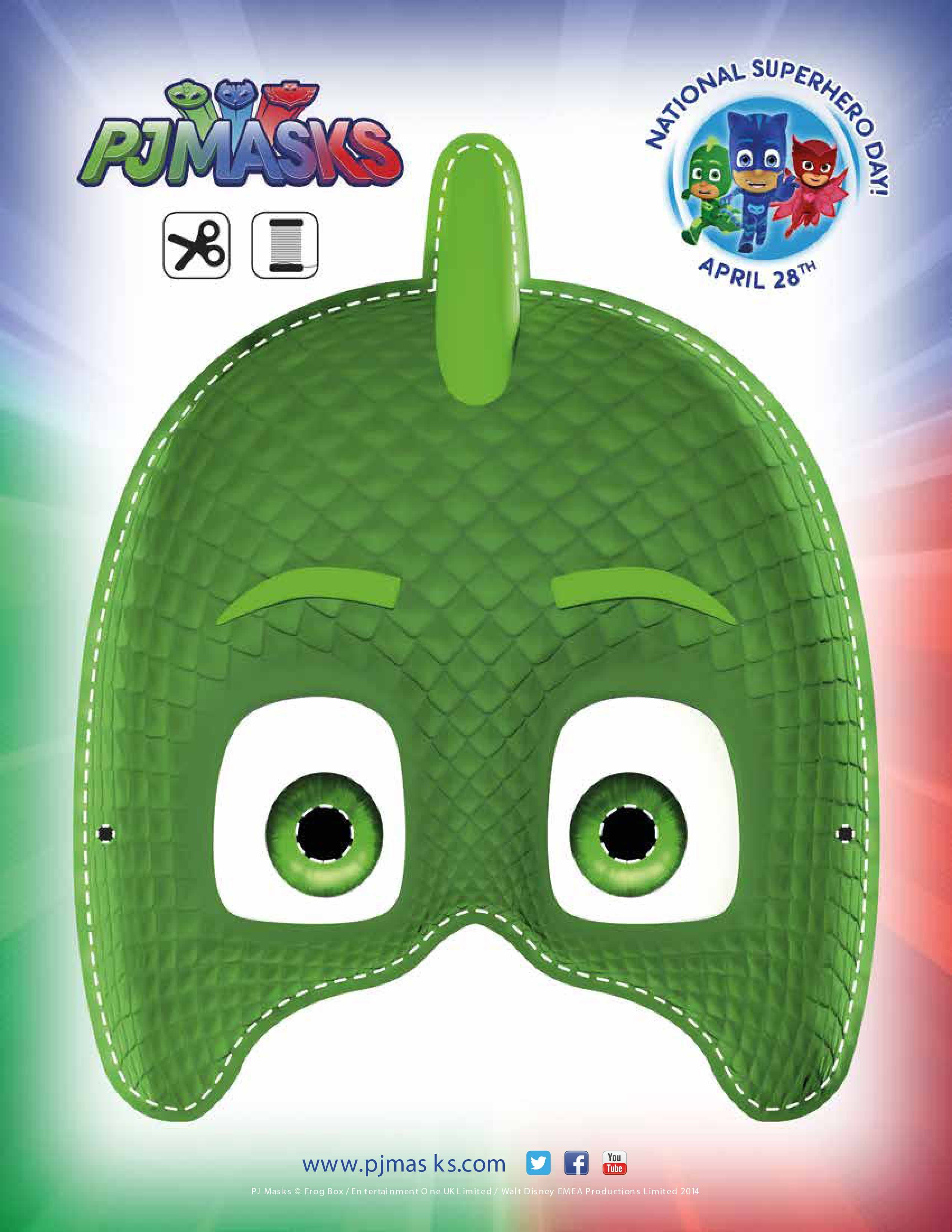 Unusual image with regard to pj mask printable template