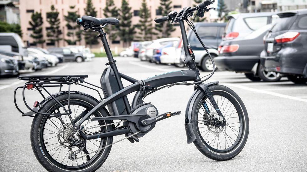 Vektron Electric Folding Bike