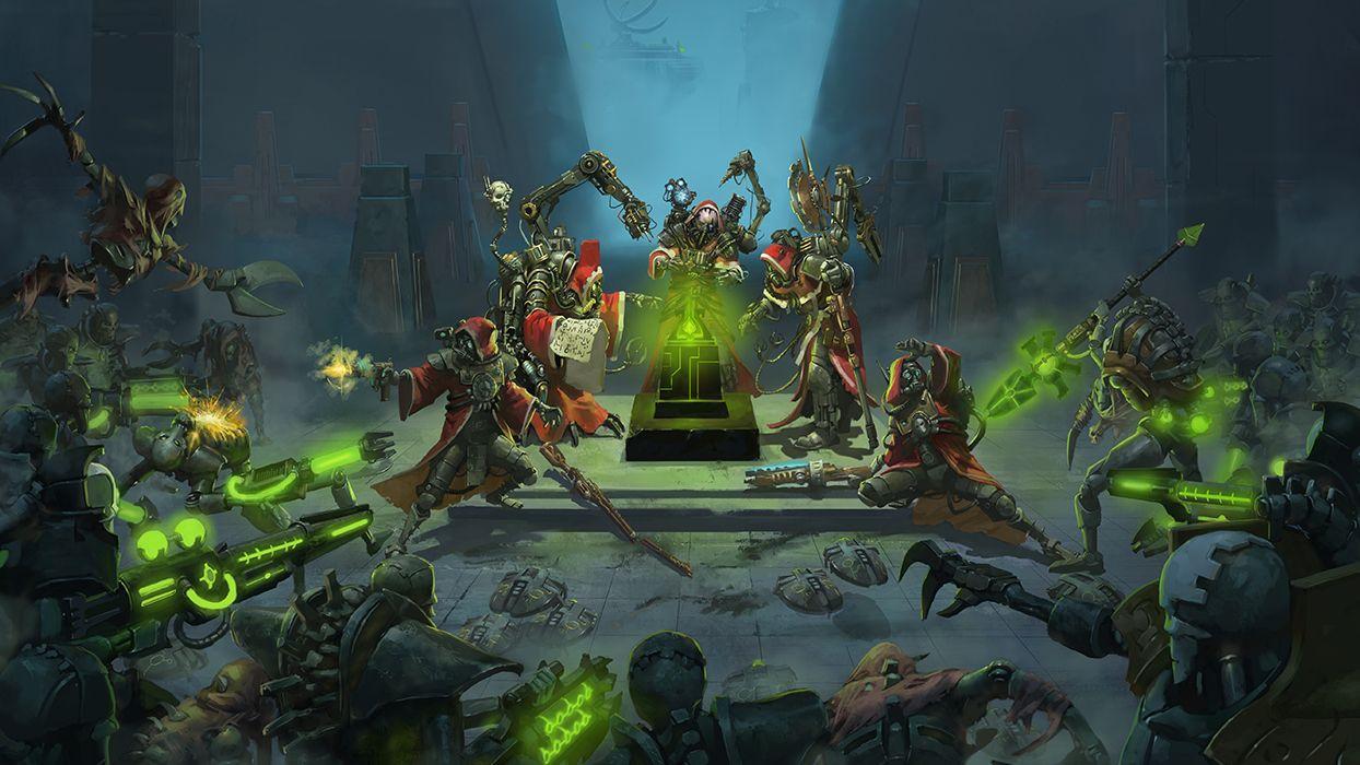 Warhammer40000mechanicus Gamescom Faq Here Https Jadorendr De Warhammer40kmechanicus Warhamm Warhammer Art Warhammer 40k Artwork Warhammer 40k Necrons