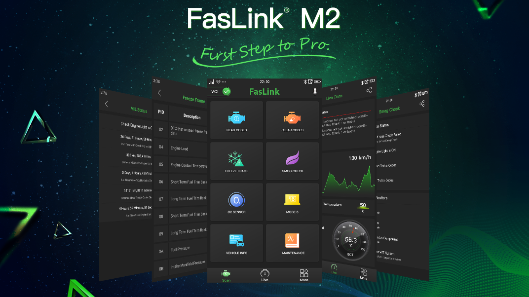 Faslink M2 App can download from Google play& App Store