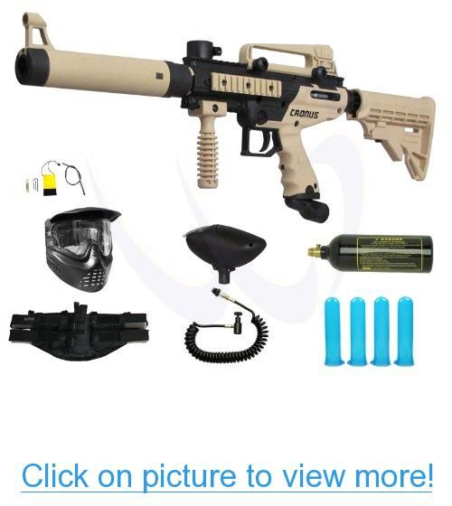 Tippmann Cronus Paintball Marker Gun -Tactical Edition- Tan Prime Combo