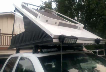 Cascadia Vehicle Tents - Hard Shell Roof Top Tents...very cool. very expensive | 4runner | Pinterest | Roof top tent Roof top and Tents & Cascadia Vehicle Tents - Hard Shell Roof Top Tents...very cool ...