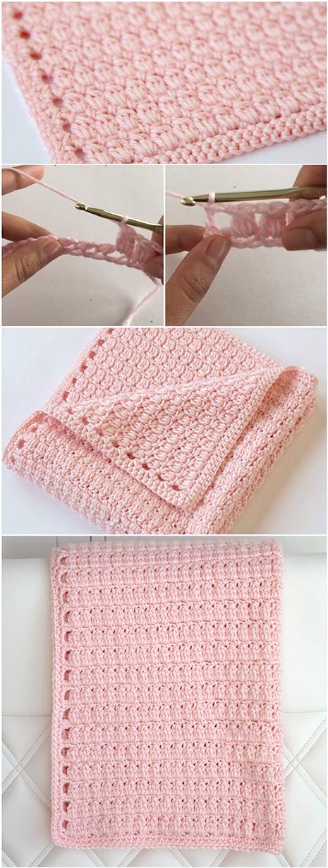 Crochet Cozy Cluster Stitch – Easy Tutorial + Free Pattern ...