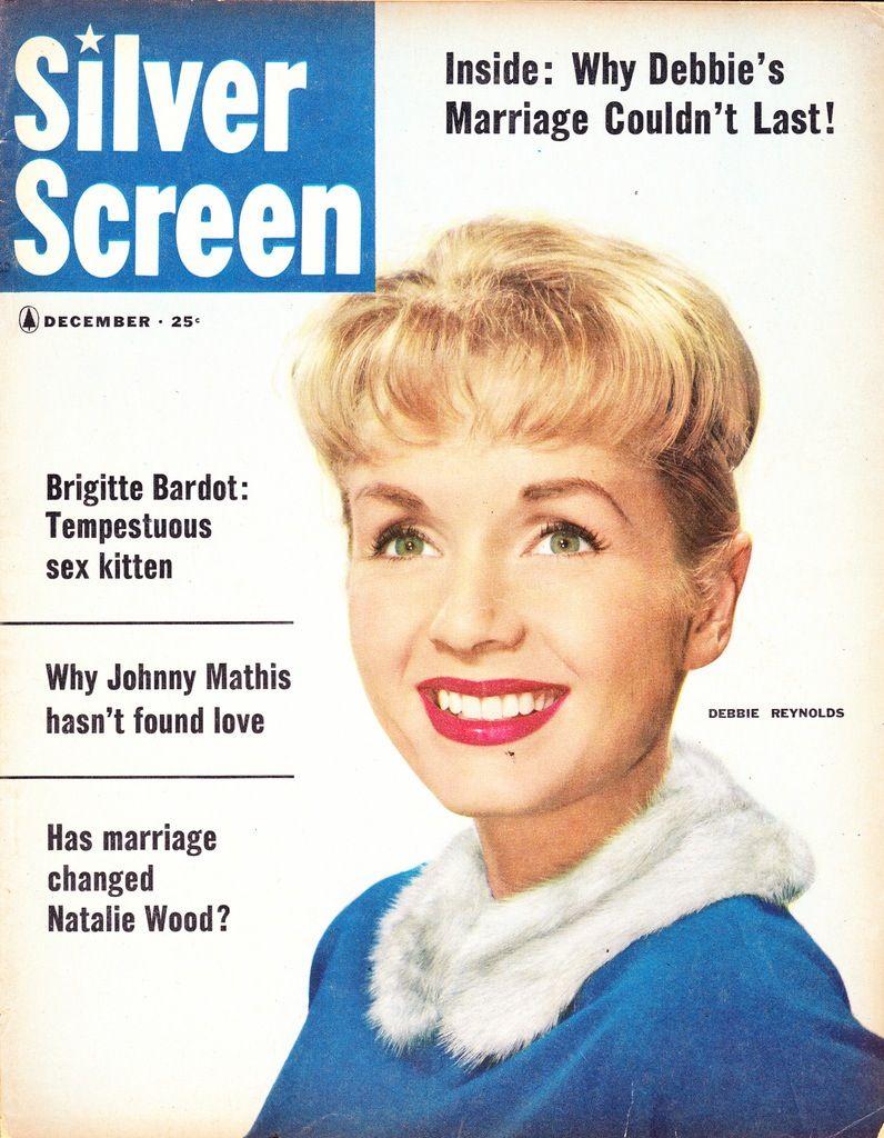 Debbie Reynolds, December 1958