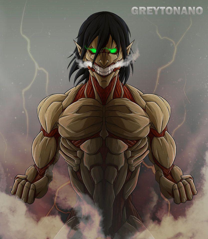 Eren Armored Titan Form By Greytonano Attack On Titan Art Attack On Titan Anime Attack On Titan Eren