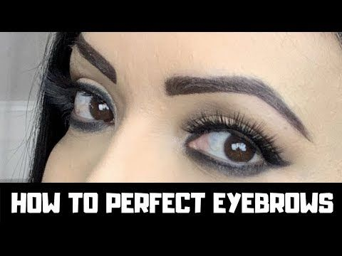 0335dcccfdb EASY EYEBROW TUTORIAL | HOW TO GET PERFECT EYEBROWS - YouTube ...