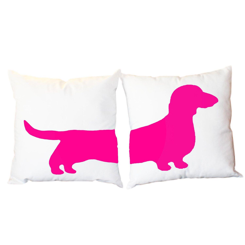 Dachshund Home Decor 78 Bilder Om Dachshund Pillow P Pinterest Husdjur Taxar Och