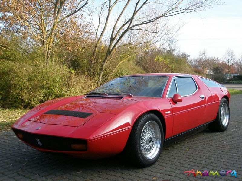 1974 Maserati Bora 4.9 Litre (With images)   Maserati bora ...