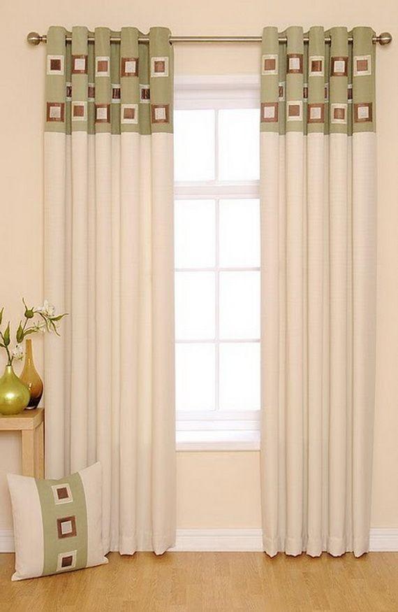 Ideas For Modern Living Room Curtains Fans 20 Design Pillow Window Inspirations