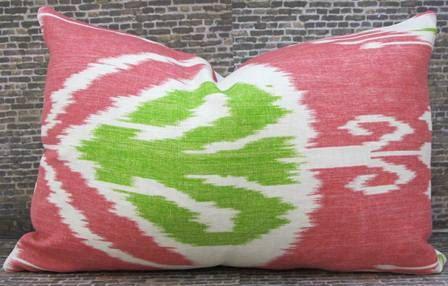 12 x 18 Designer Pillow Cover  - Bansuri Ikat -. $30.00, via Etsy.