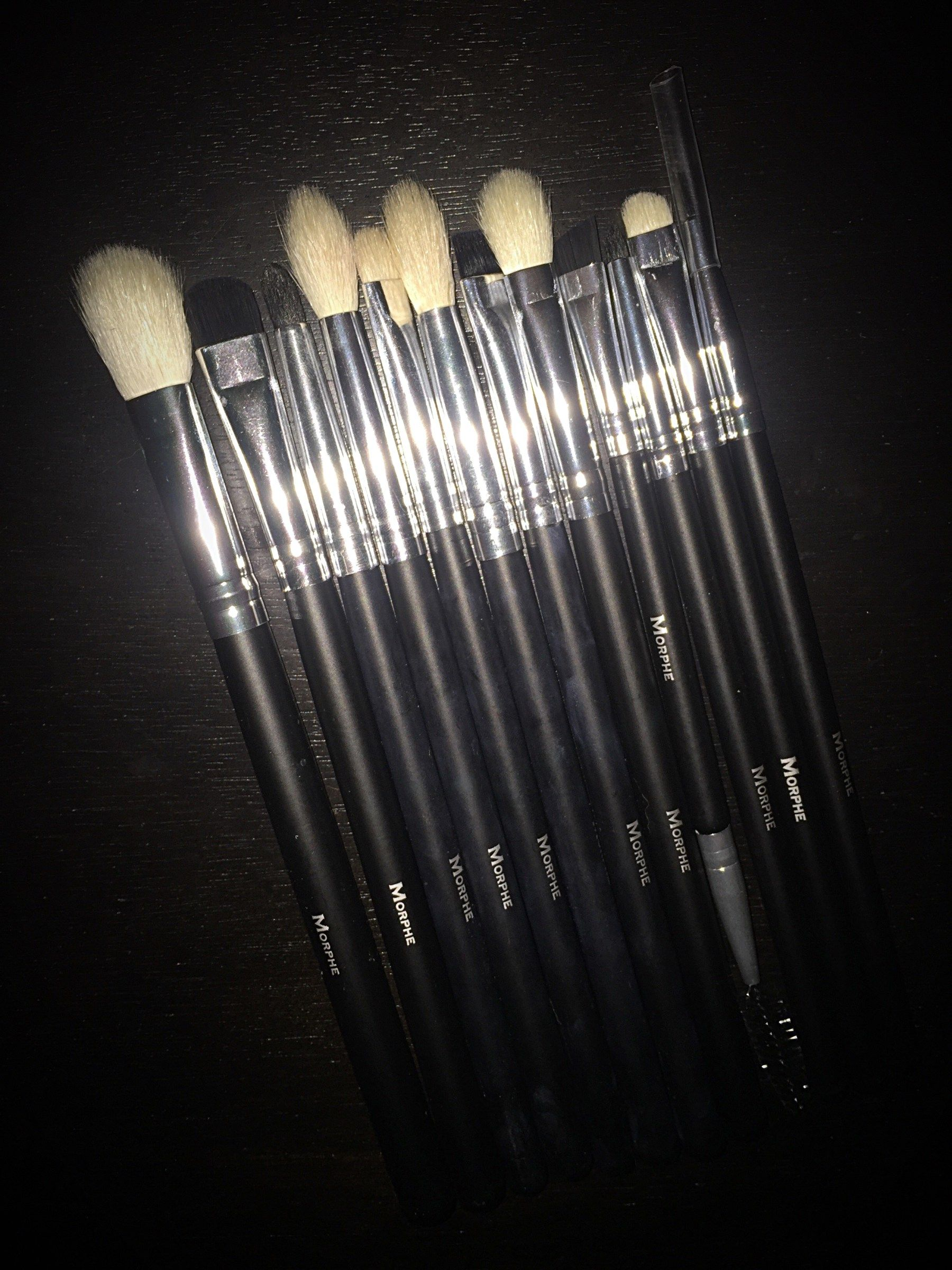 Ya girl just got the Morphe Set 702. The most glorious, most beautiful set  of eye brushes you could ever lay your eyes on. I had been searching for a  ...