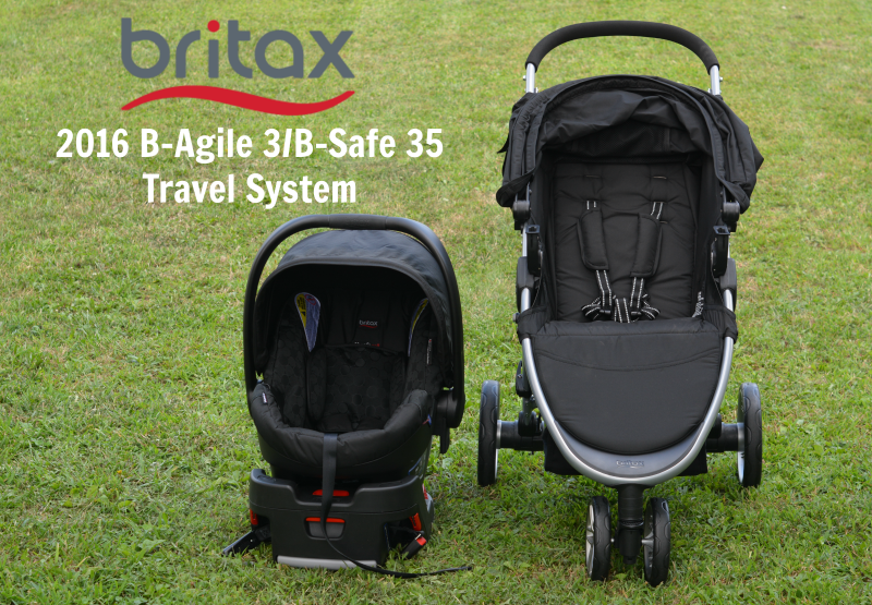 Britax BAgile 3/BSafe 35 Travel System Review Thrifty