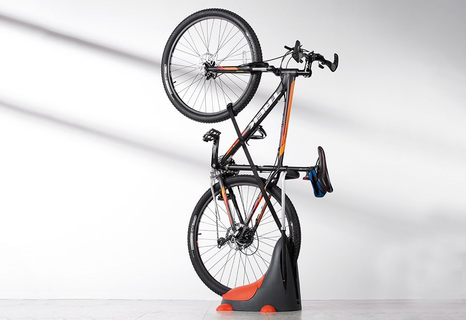 Magic bike stand sharper image bike stand bike