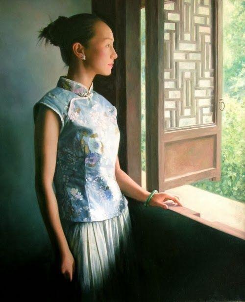 Impressioni Artistiche : ~ Li Guijun ~ | Painted ladies