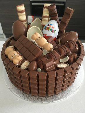 Kinderriegel Torte - eine pfiffige Geschenkidee für den perfekten Kindergeburtstag