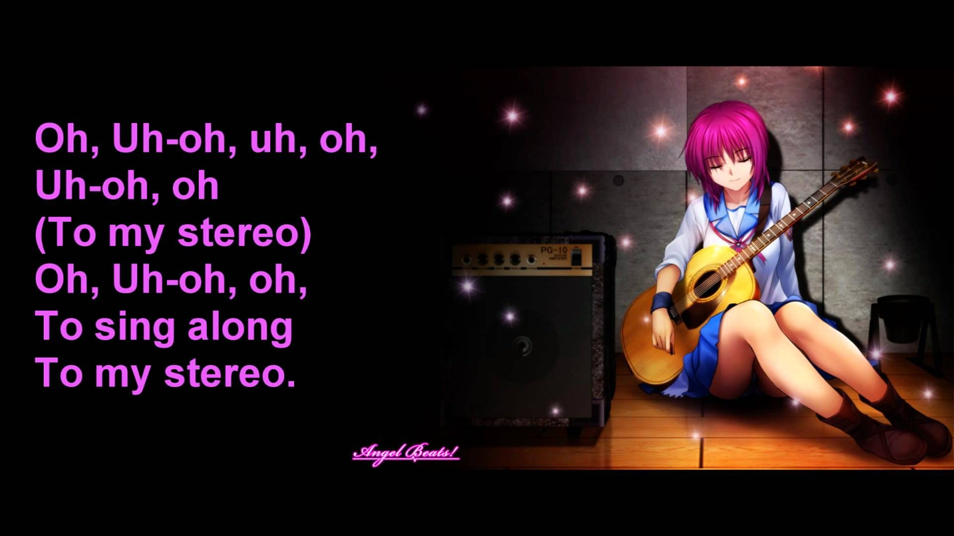 Stereo Heart Female Version Lyrics Nightcore Songs Anime Songs