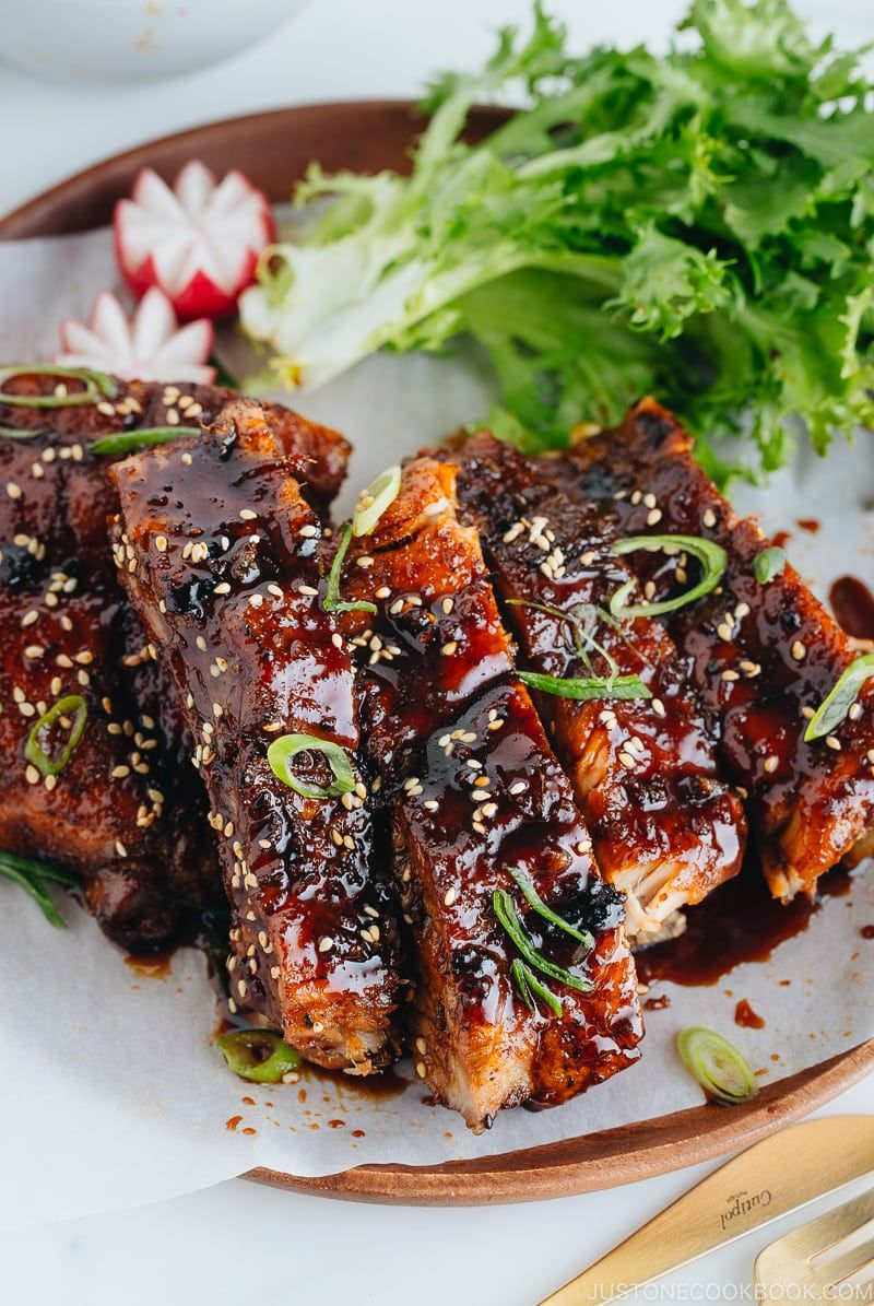 Instant Pot Sticky Asian Ribs 甘辛スペアリブ • Just One Cookbook