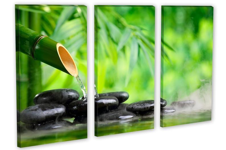 Zen Art Spa Wall Art Spa Stones Canvas Print Zen Wall Art Etsy Etsy Wall Art Zen Wall Art Custom Wall Art