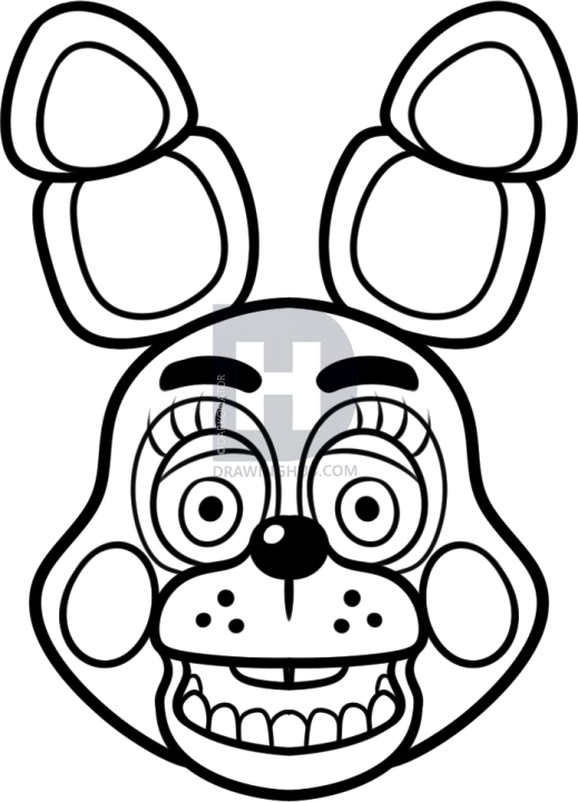 I Have Yet Another Lesson On A Character From Five Nights At Freddy 39 S And I Know That You Have S Fnaf Coloring Pages Coloring Pages Five Nights At Freddy S