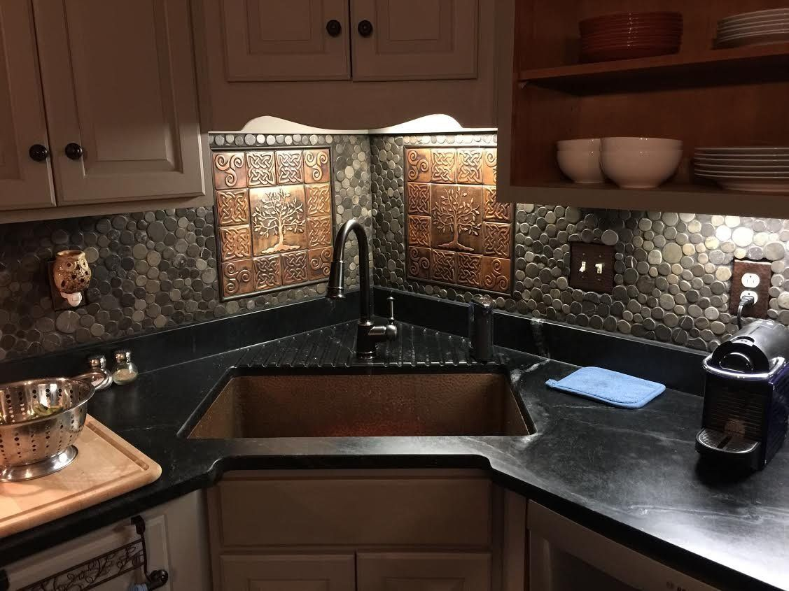Tree Of Life Celtic Tiles Set Of 13 In 2020 Kitchen