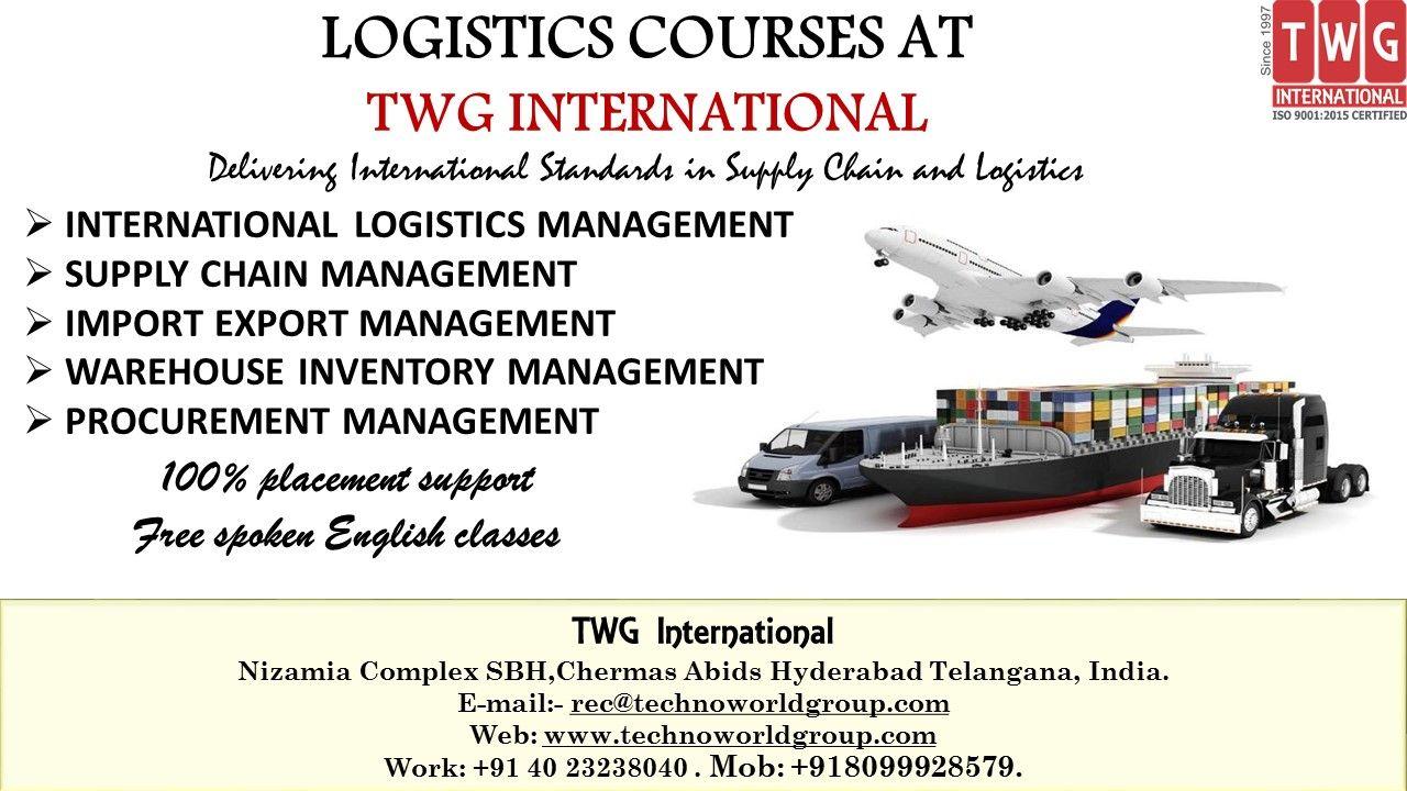 LogisticsCourses at TWGInternational Nizamia Complex
