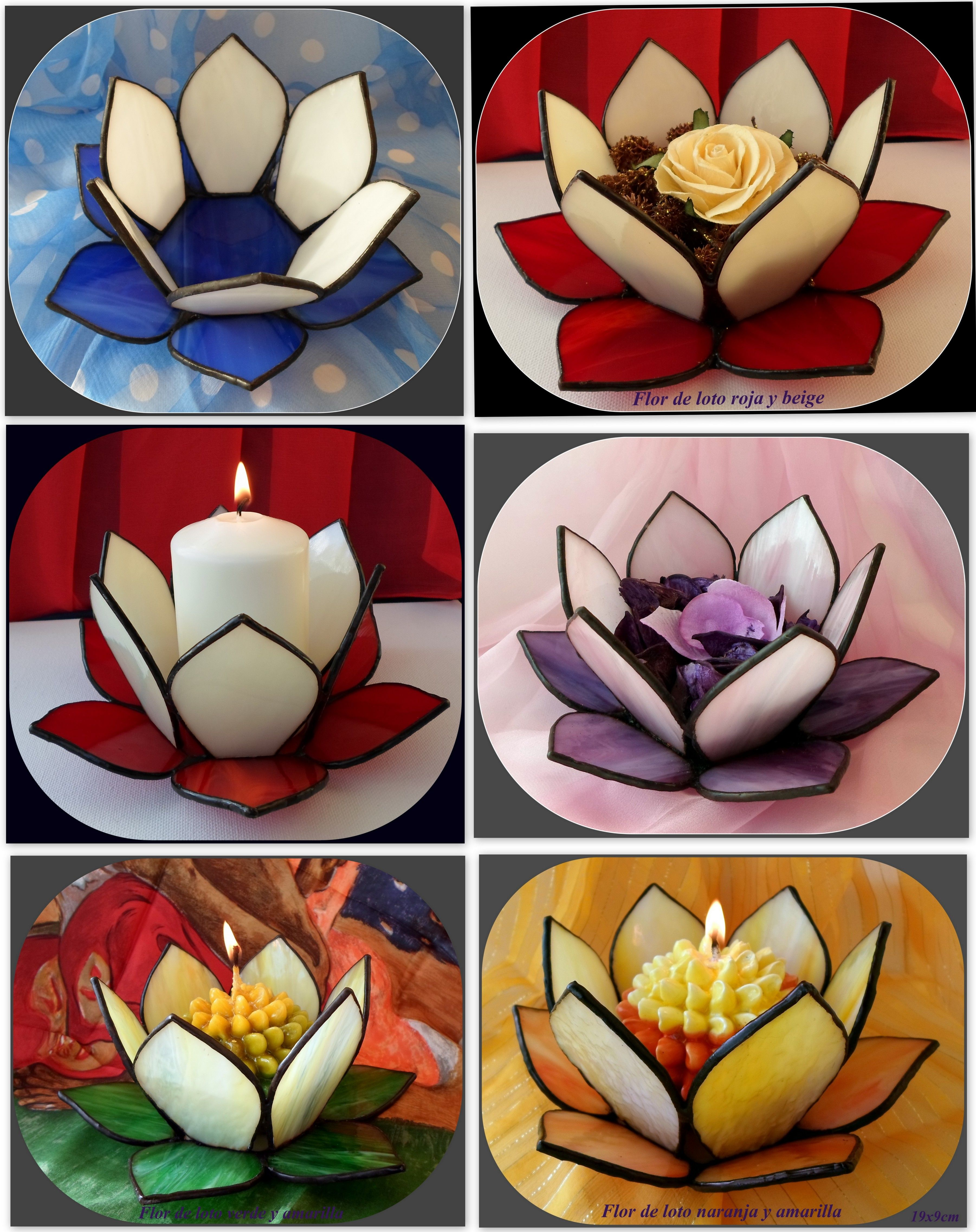 Wonderful Candle Holders Donnas Stained Glass Stained Glass Art