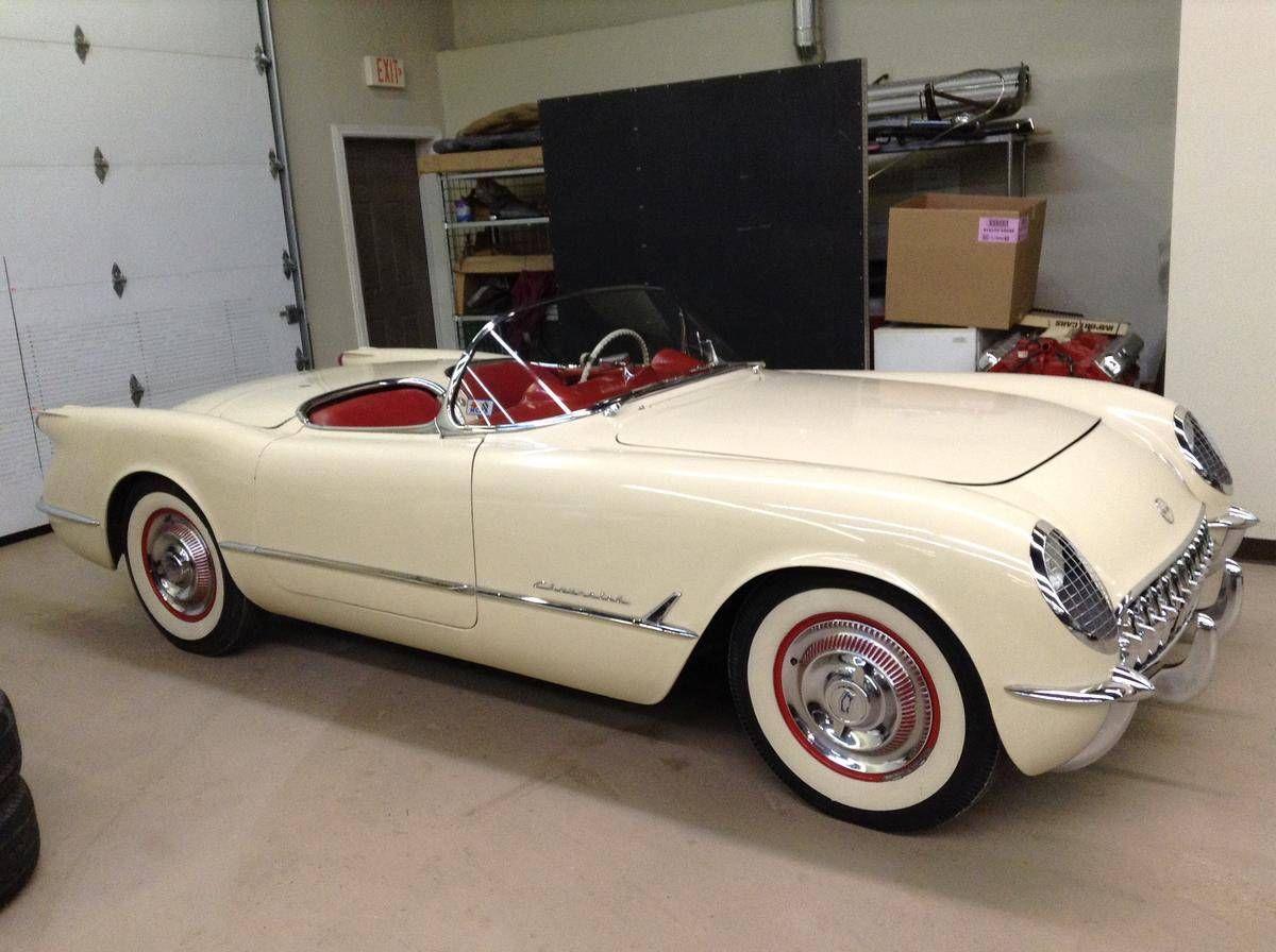 1954 Chevrolet Corvette Blue Flame 6 Classic Cars Classic Cars Vintage Chevrolet Corvette