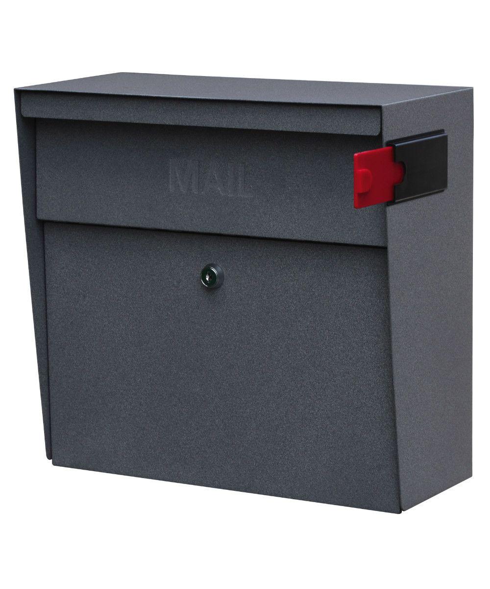Metro Locking Mail Boss Wall Mount Mailbox Mounted Mailbox Lockable Mailbox