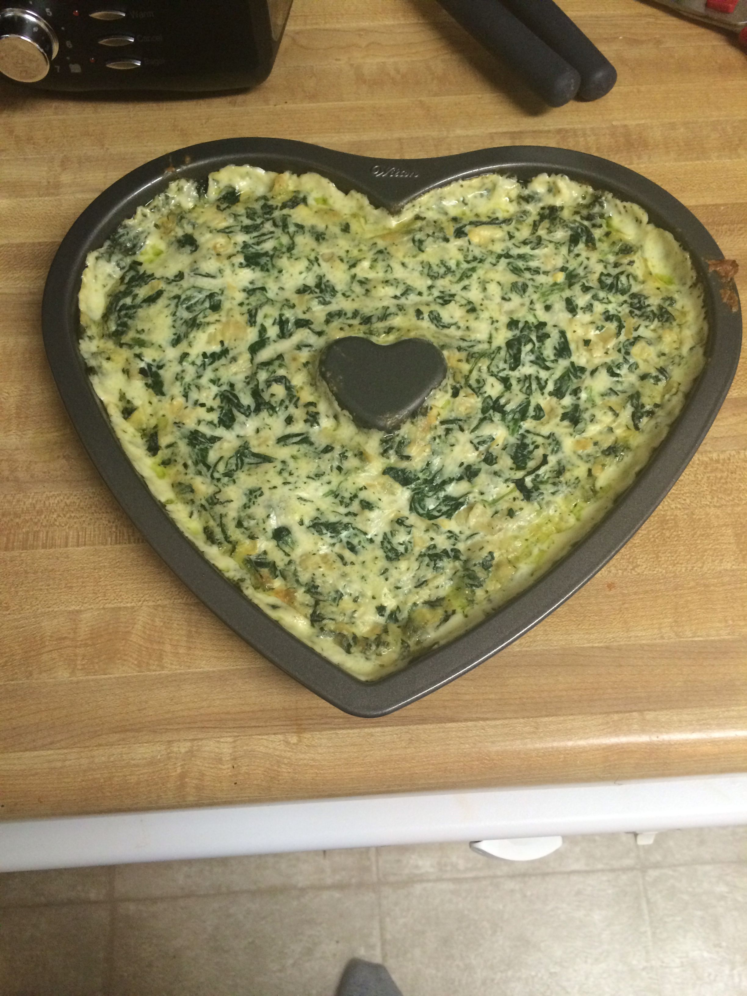 Spinach and artichoke dip made with love!