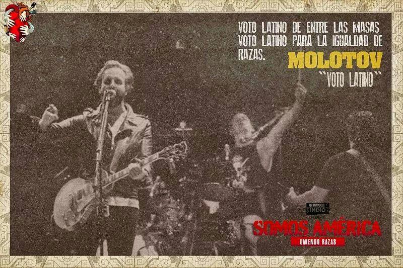 Voto Latino Molotov