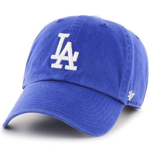 Los Angeles Dodgers Clean Up Adjustable Game Cap By 47 Youth Hats La Dodgers Hat 47 Brand