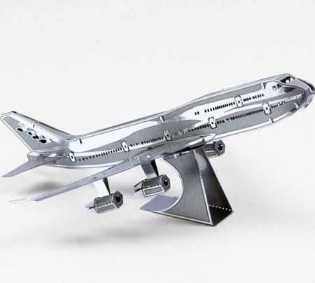 Fascinations Metal Earth Commercial Jet 3D Laser-Cut Metal Model