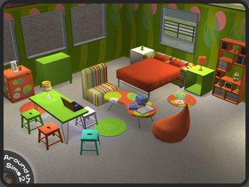 Around the Sims 2 | Objects | Bedroom | Uni