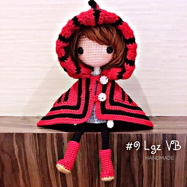 Kayla C done by participant of my FB crochet activity, Lgz VB. Cute~❤️