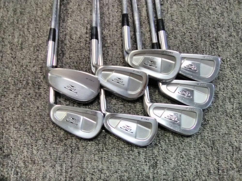 8527bbc0357b Mizuno T-ZOID Pro II FORGED 3-PW RH-S300 new golf pride grips MINT! (eBay  Link)