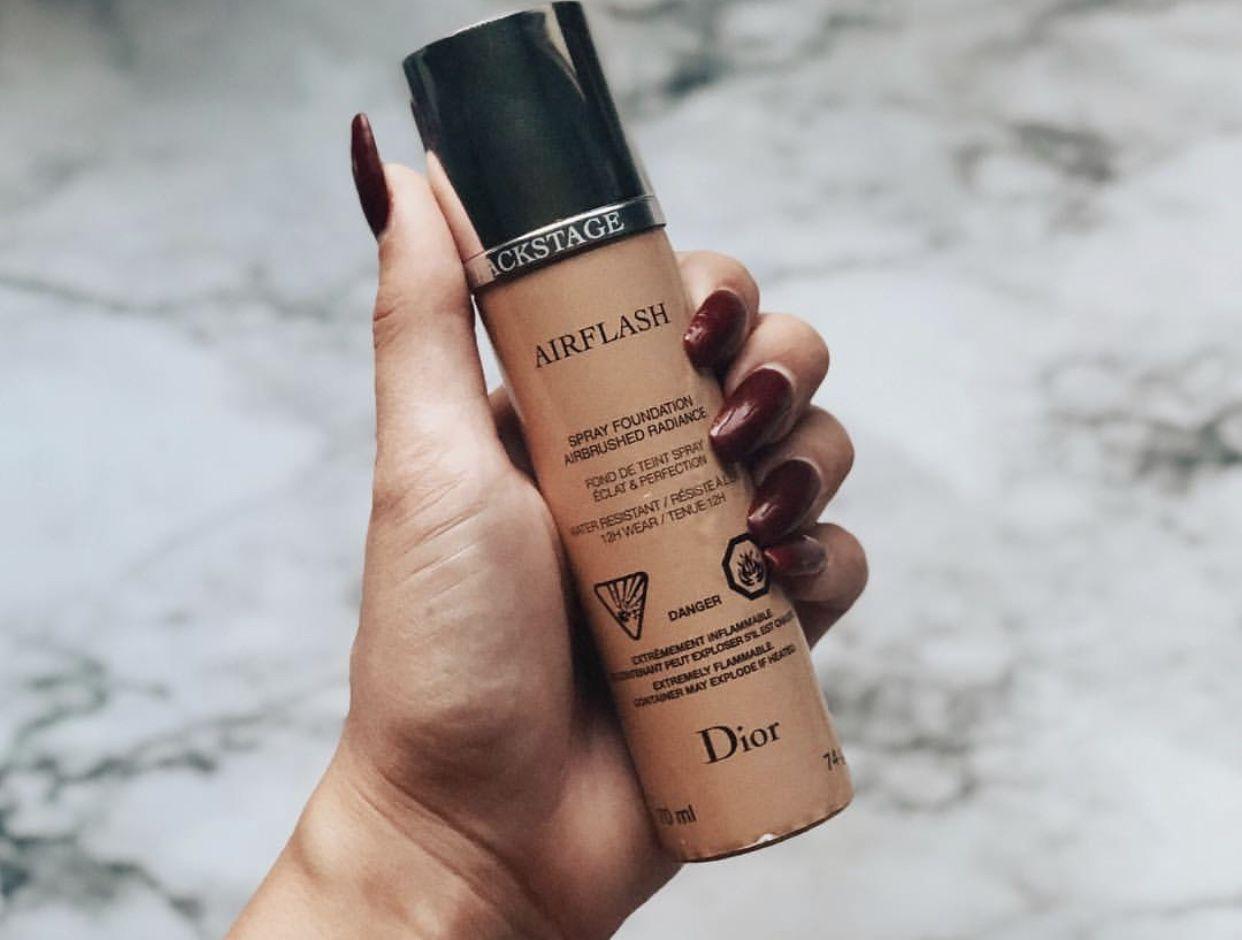 ff865f02 DIOR Airflash Foundation   Airflash in 2019   Dior makeup ...
