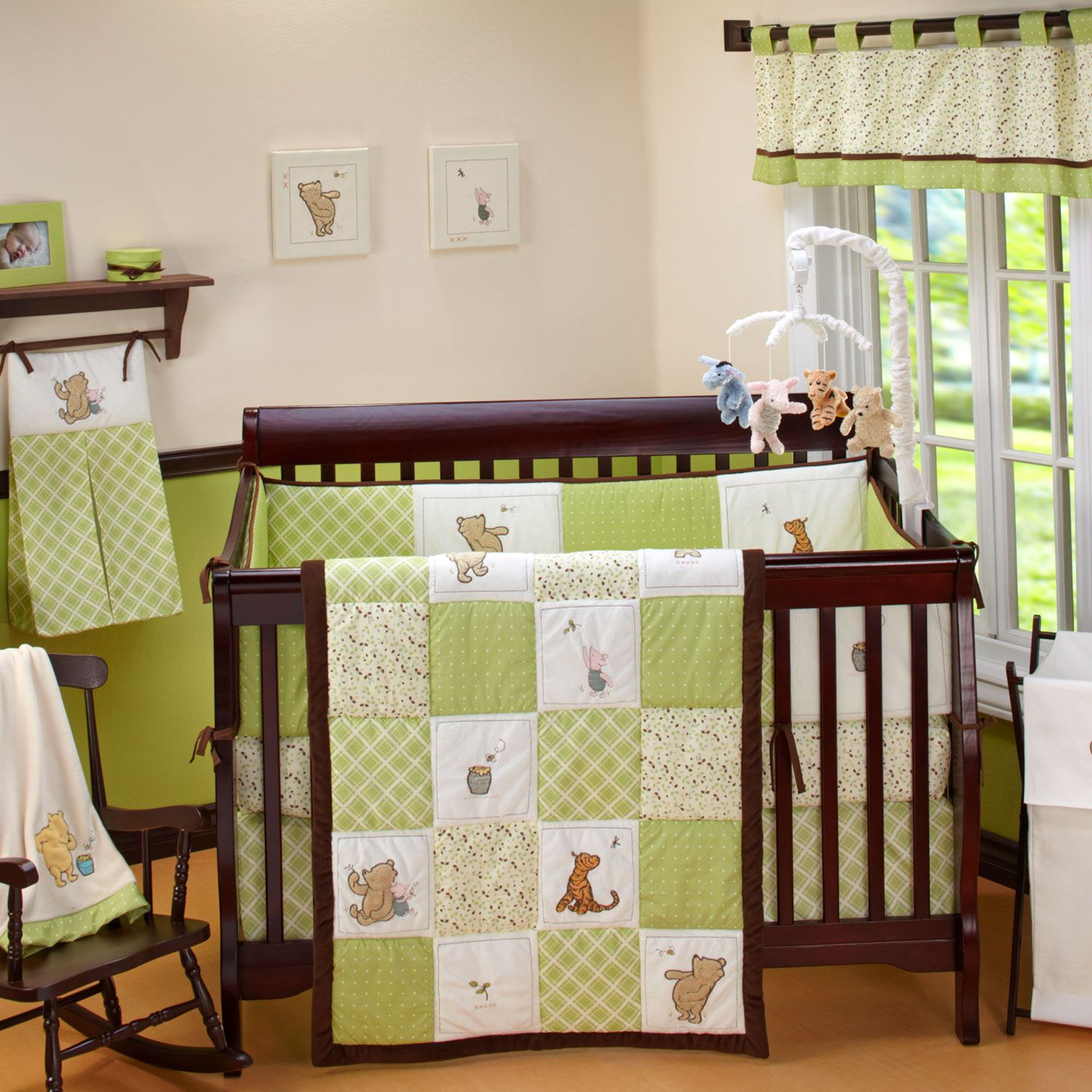 Winnie The Pooh Nursery Crib Bedding Sets Easy Decor